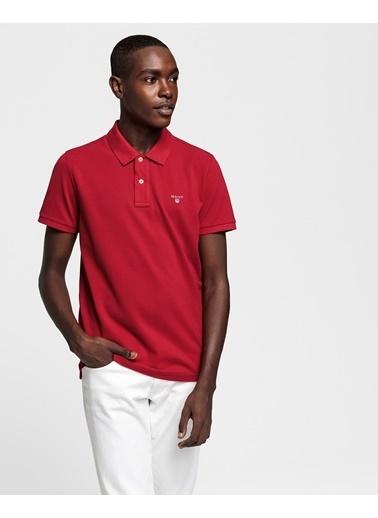 Gant Tişört Kırmızı